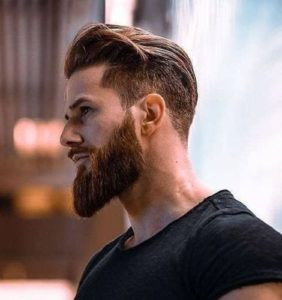 Men's Spiked Hairstyle